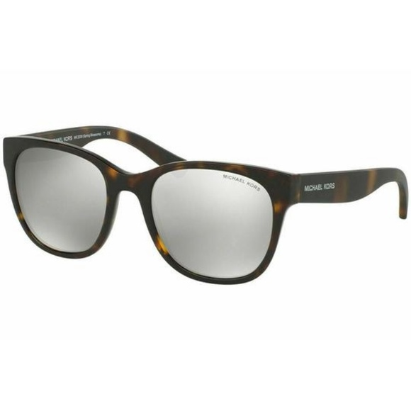 Michael Kors Square Style Silver Mirrored Lens.